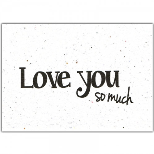 wenskaart love you