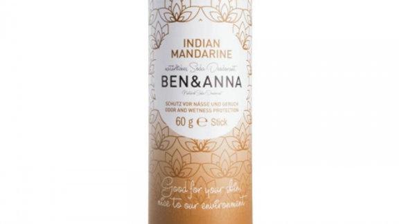 Ben & Anna deodorant Indische mandarijn