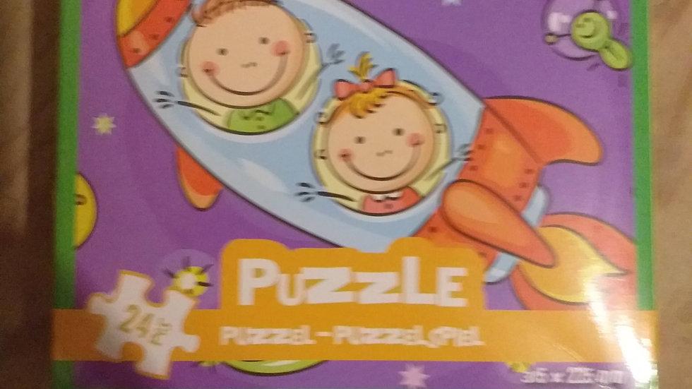 Puzzel raket