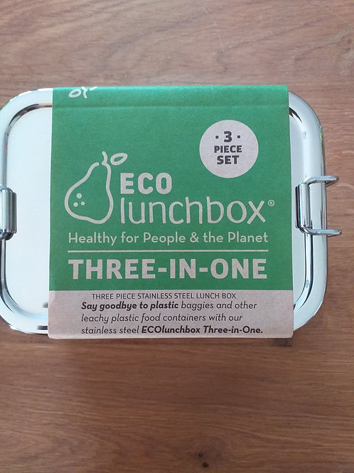 three-in-one ECO-LUNCHBOX