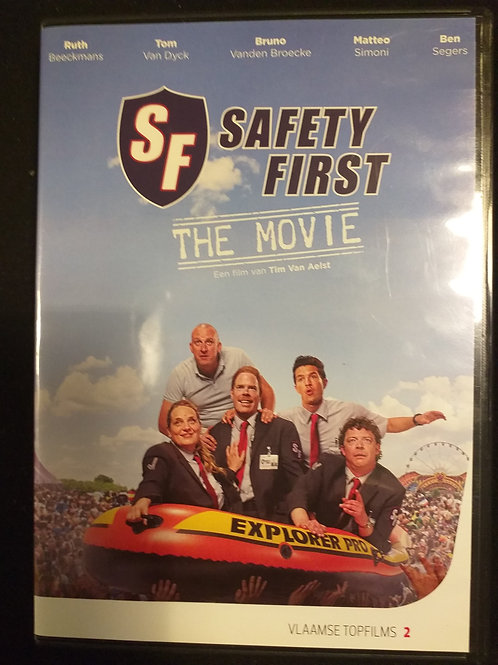 """dvd """"Safety first: the movie"""""""