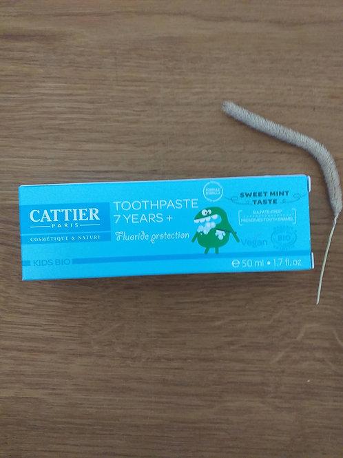 tandpasta vanaf 7 jaar munt bio 50ml
