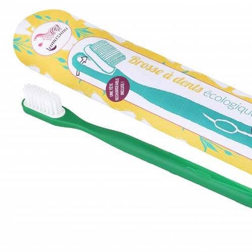 Lamazuna tandenborstel met vervangbare kop MEDIUM