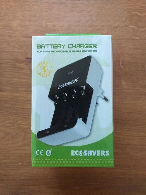 batterijoplader AA/AAA ECOSAVERS