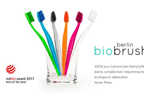 tandenborstel bioplastic BIOBRUSH