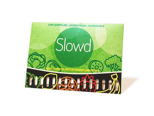 Hou eten langer vers SLOWD