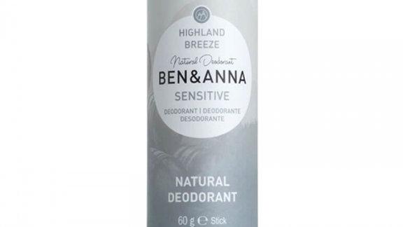 Ben & Anna deodorant highland breeze sensitive