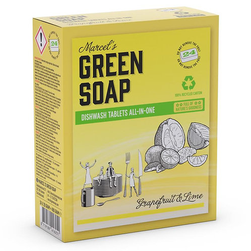 Marcel's Green Soap vaatwastabletten
