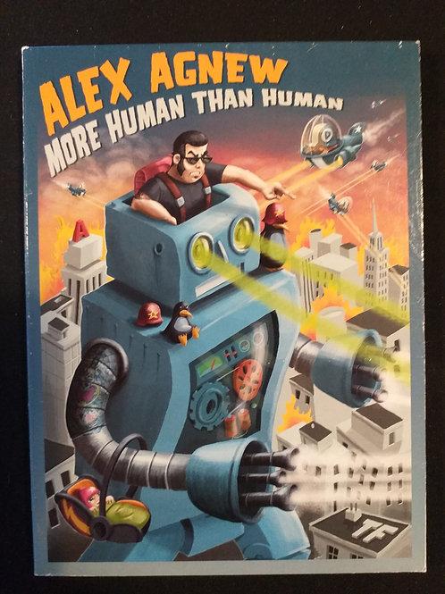 """dvd """"Alex Agnew - More human than human"""""""