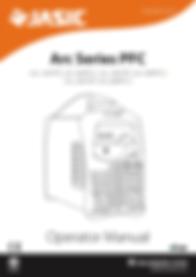 Jasic Arc 200 PFC Manual Cover