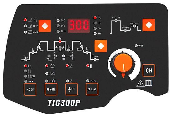 Jasic TIG 300P Welder Panel