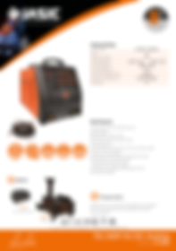 Jasic TIG 200P AC/DC Analog Sales Leaflet