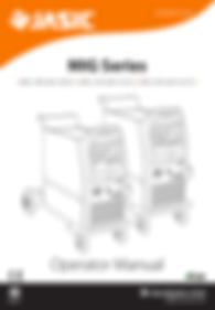 Jasic MIG 250/350 Compact (V2) Operator Manaual