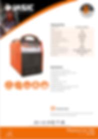 Jasic Plasma Cut 100 Sales Leaflet