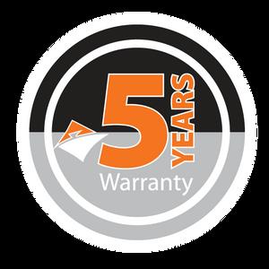 Jasic 5 year warranty logo