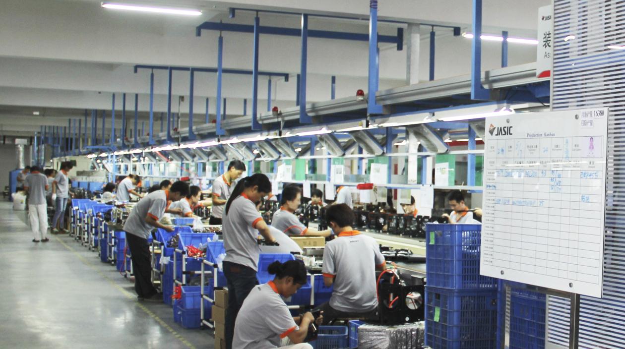Jasic Production Line Shenzhen