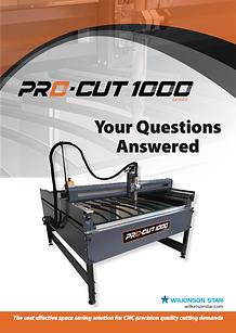 Jasic Pro-Cut 1000 Q&A