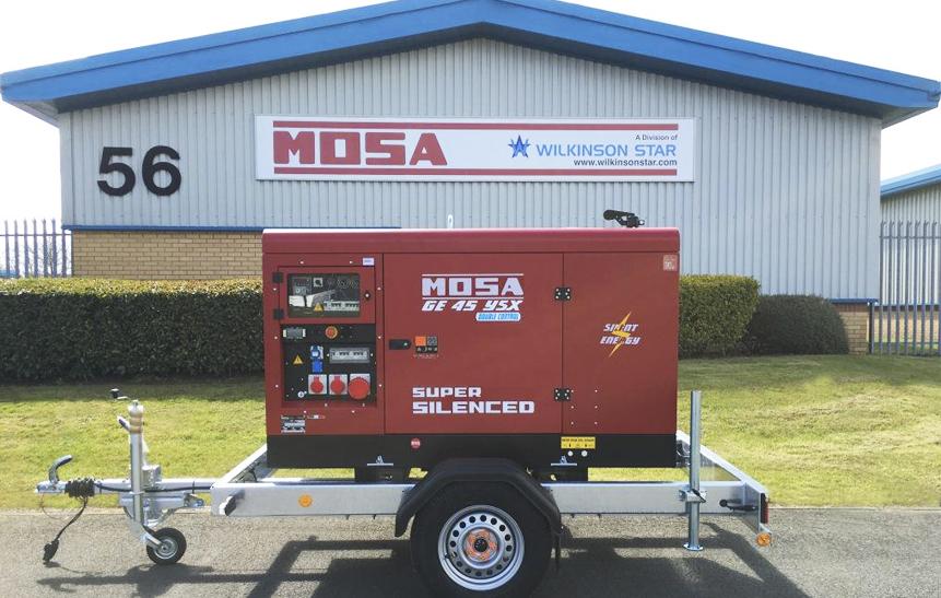 Mosa Engine Driven Welders & Generators l Wilkinson Star