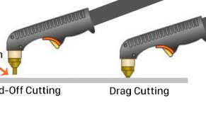 'Stand-Off' cutting V's 'Drag' cutting on a plasma cutter