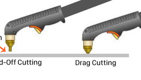 'Stand-Off' cutting V's 'Drag' cutting on a plasma cutter