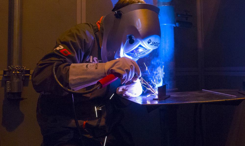 Jasic MMA welding image