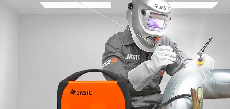 Jasic TIG welding scene
