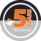 Jasic Welding Inverter 5 Year Warranty Logo