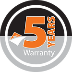 Jasic Welding Inverters 5 Year Logo
