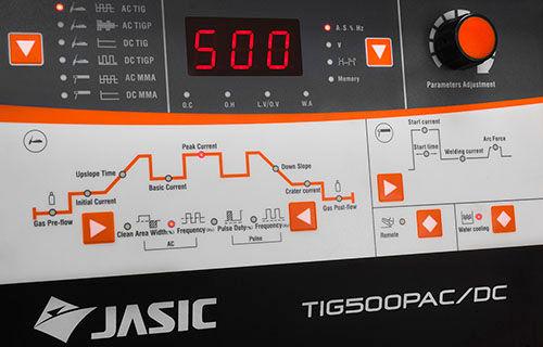 Jasic Tig Welding Inverter Panel