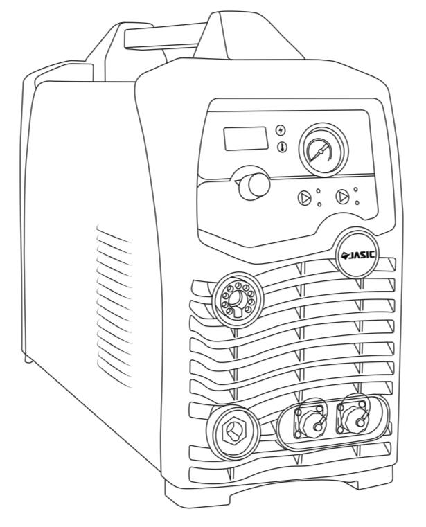 Jasic Cut 80 Plasma Cutter Illustration