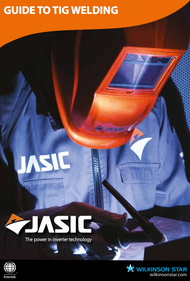 Jasic Guide to TIG Welding Cover