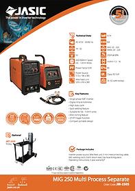 Jasic MIG 250S Sales Leaflet