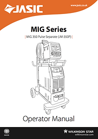 Jasic MIG 350P Manual Cover