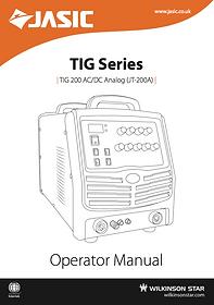 Jasic TIG 200P AC/DC Manual Cover