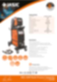 Jasic MIG 350P Sales Leaflet