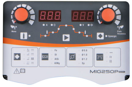 Jasic MIG 250P Welder Panel