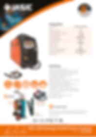 Jasic MIG 200 Synergic Sales Leaflet