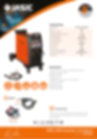 Jasic MIG 250 Compact Sales Leaflet