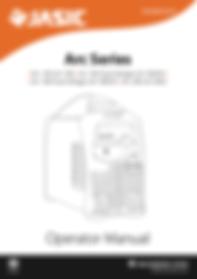 Jasic Arc Series Operator Manual