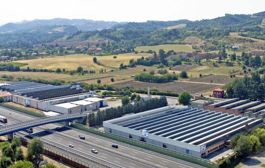 Fiac Factory in Bologna, Italy.
