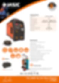 Jasic TIG 200P AC/DC Mini Sales Leaflet