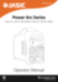 Jasic Power Arc Series Operator Manual