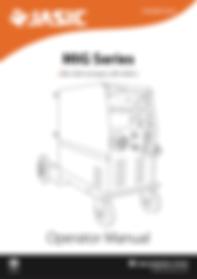 Jasic MIG 350 Compact (V1) - Operator Manaul