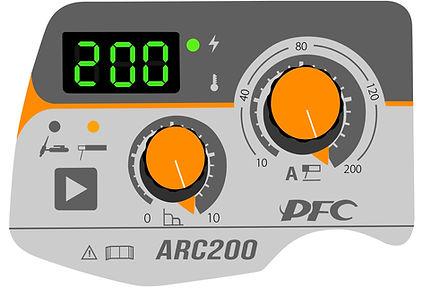jasic arc 200 pfc welding control
