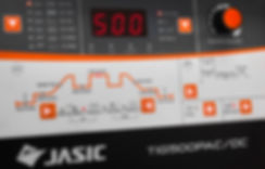 Jasic TIG 500P AC/DC Panel