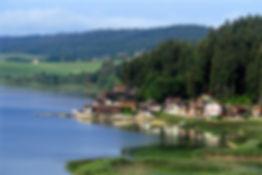 le lac de Saint Point.