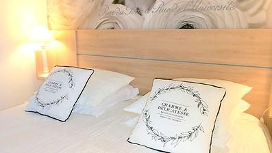 la chambre, lit grand confort