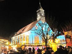 Montbéliard, le marché de Noël.