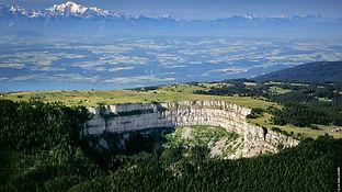 en Suisse le creux du Van