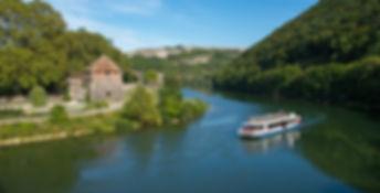 Besançon, ballade en bateau .